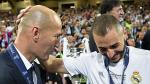 Zidane le respondió al presidente Hollande por criticar a Benzema - Noticias de karim benzema