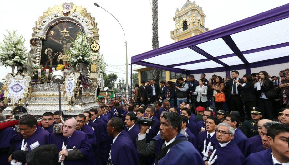 Alianza Lima es conocido por su fe el Señor de los Milagros. (Eddy Lozano)