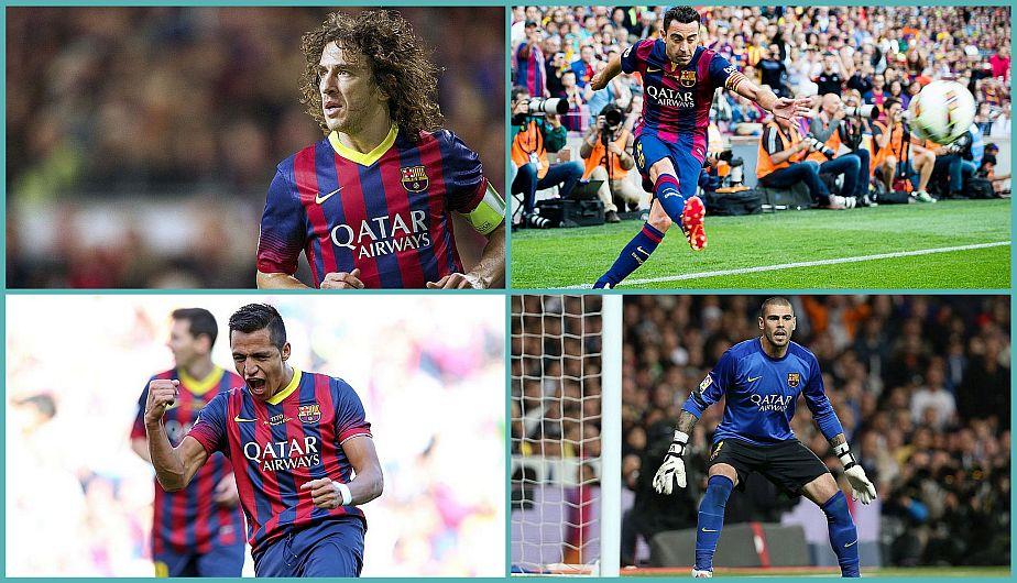 Los jugadores del Barcelona de Guardiola que ya no están en el club catalán.