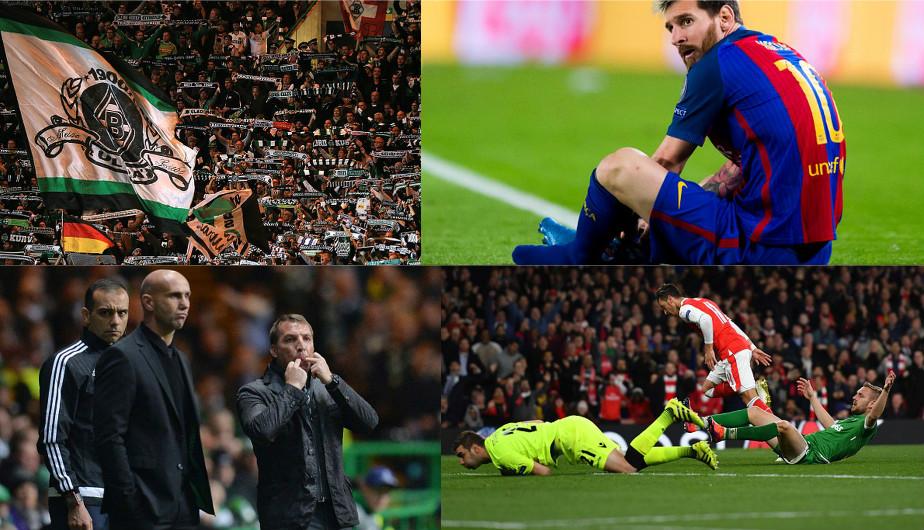 Lo que no viste por TV: las mejores imágenes de la jornada de Champions League. (Getty Images/AFP/Reuters)