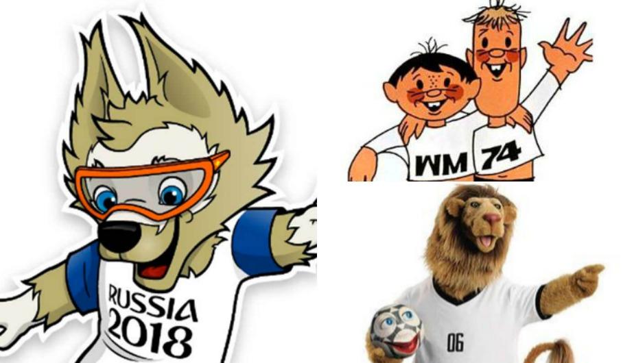 Estas son todas las mascotas en la historia de los Mundiales. (FIFA)