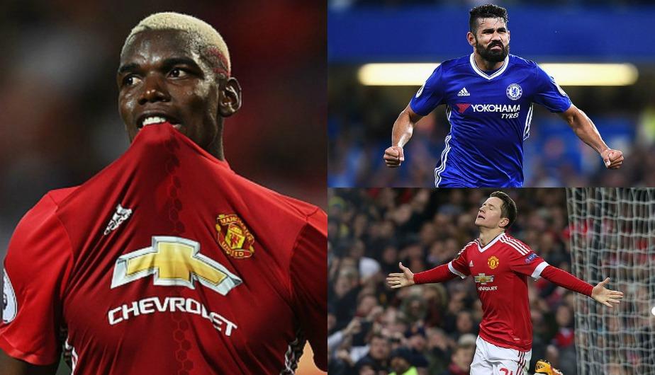 Estos son los jugadores más caros en la previa del Chelsea ante Manchester United. (Getty Images)