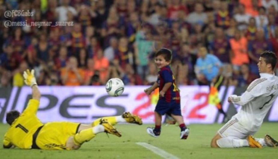 Los mejores memes del debut de Thiago Messi en el Barcelona  08b32e810bcc0