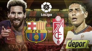 Barcelona vs. Granada por Liga Santander: juegan hoy en Camp Nou