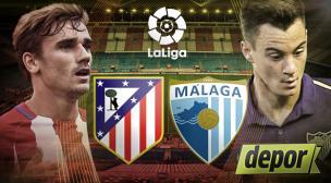 Atlético de Madrid vs. Málaga: hoy en el Calderón por la Liga Santander