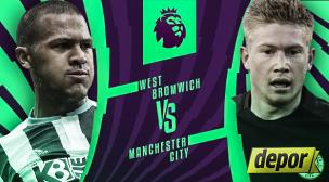 Manchester City vs. West Bromwich: se enfrentan hoy por la Premier League