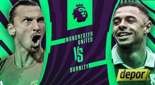 Manchester United vs. Burnley: se enfrentan hoy por la Premier League
