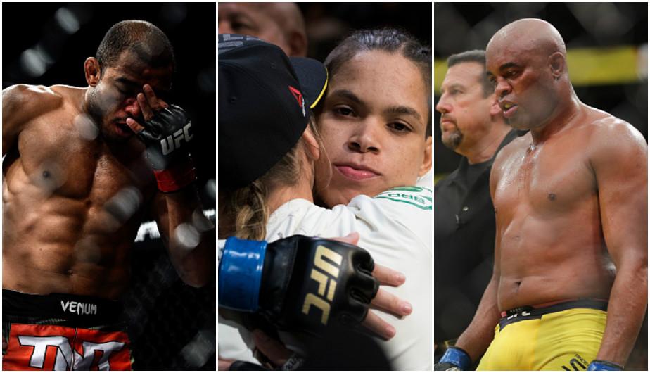 Peleadores brasileros de la UFC se despidieron de los futbolistas fallecidos de Chapecoence. (Getty)