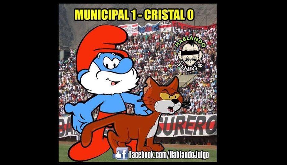 Municipal ganó y los memes no tuvieron piedad con los celestes. (Facebook)