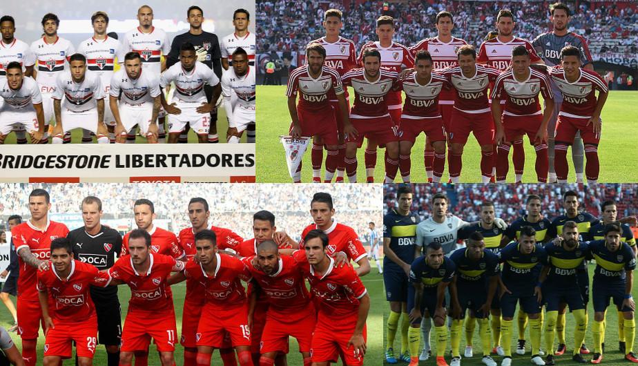 Los equipos dispuestos a ceder jugadores para el Chapecoense.