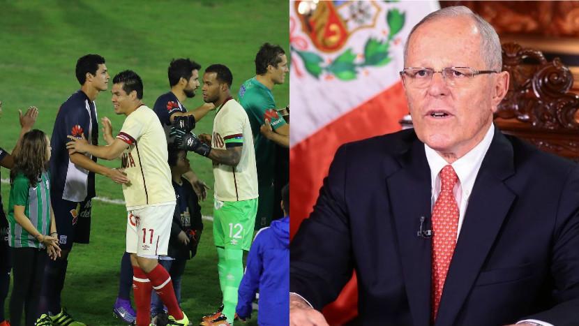 PPK: 'Reduciremos en 50% la deuda de Universitario y Alianza Lima con Sunat'