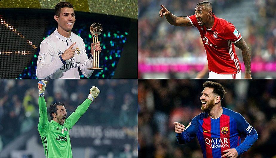 La Liga española arrasa con el once ideal de la UEFA